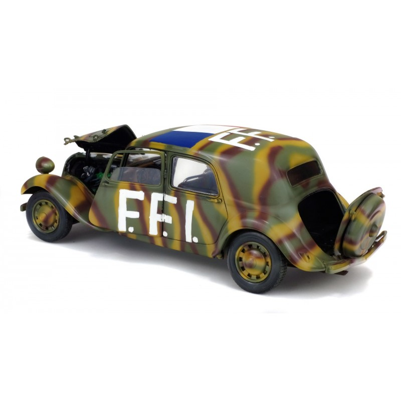 citroen traction 11cv ffi 1944 1  18 solido s1800902 airfix