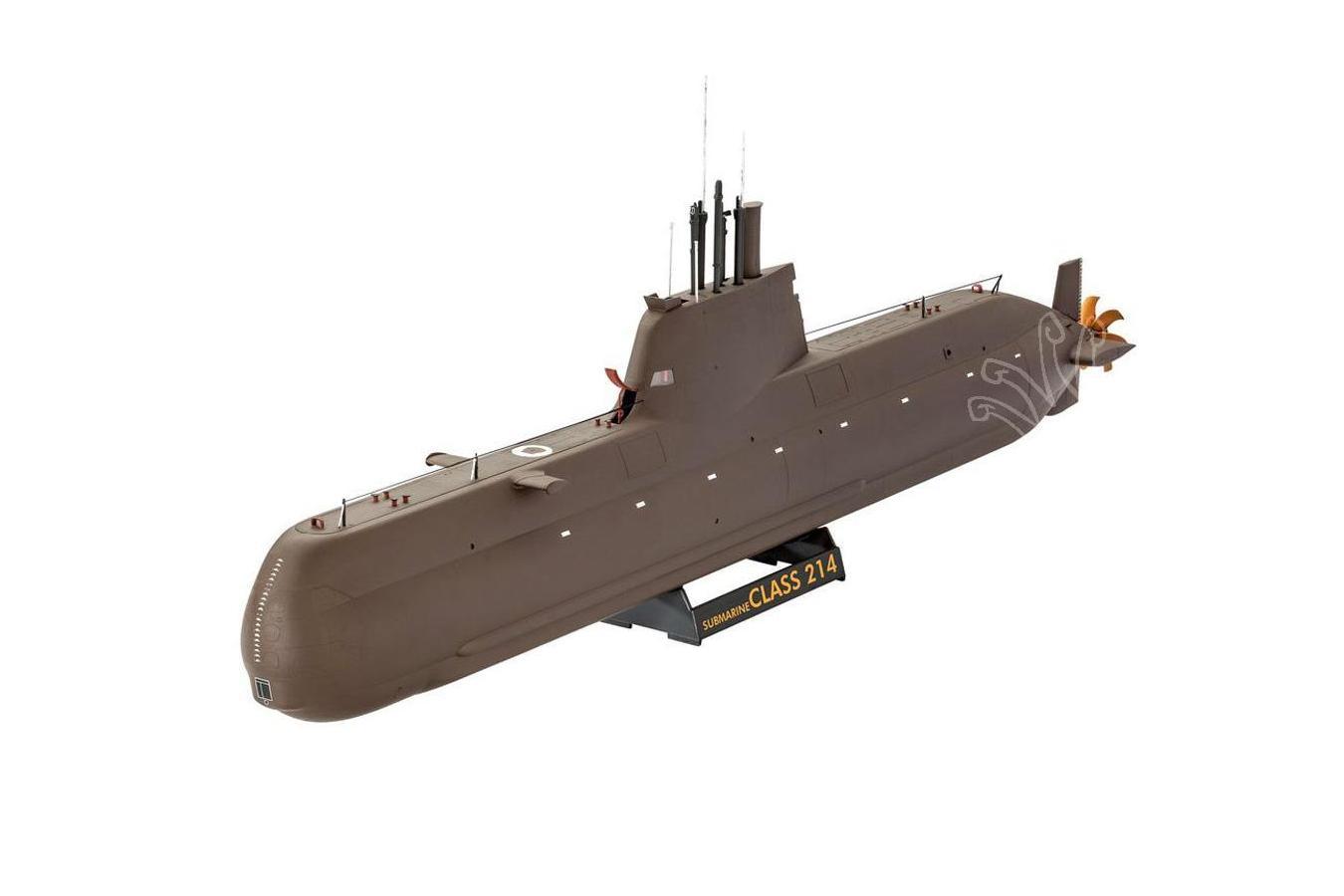 sous marin class 214 1 144 revell revell 05153 aux mod les r duits votre sp cialiste depuis. Black Bedroom Furniture Sets. Home Design Ideas