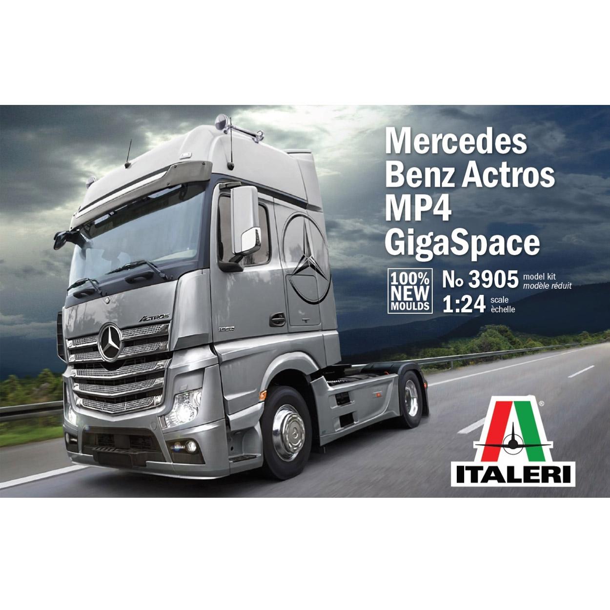 Mercédes-Benz Actros MP4 GigaSpace
