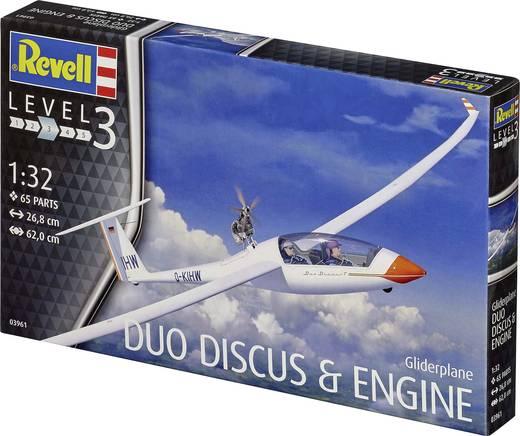 03961 Revell Motoplaneur Duo Discus /& Moteur