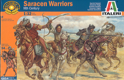 Saracen warriors - ITALERI - 1/32è
